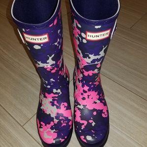 Hunter original short Neptune boots sz 8